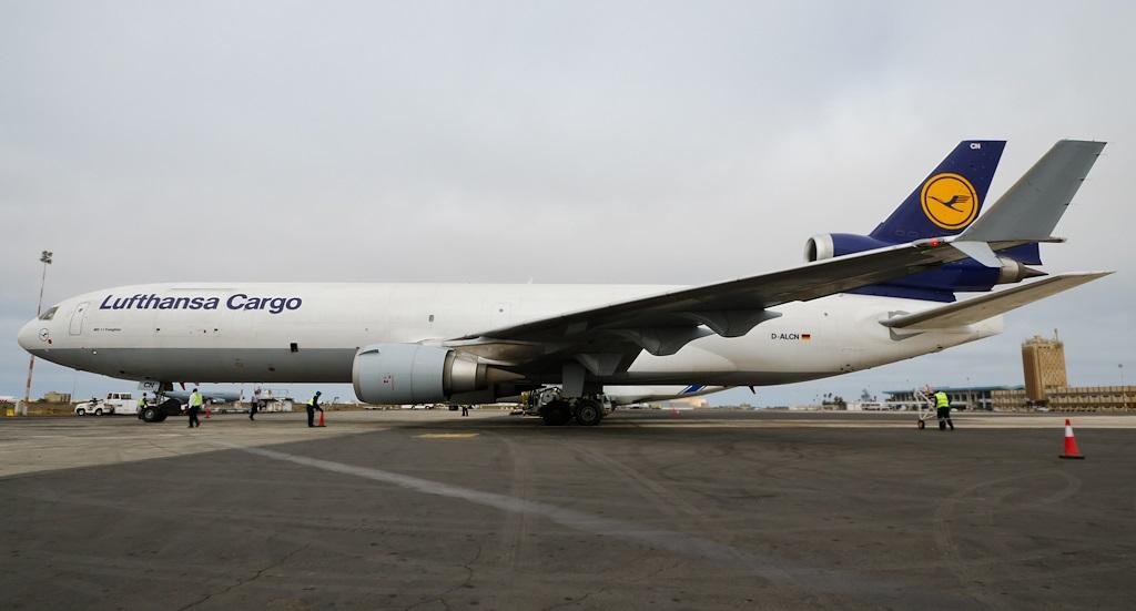 Lufthansa Cargo MD-11F D-ALCN (last made MD-11F)